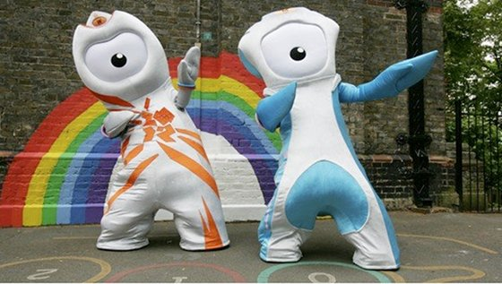 london 2012 olympics mascots