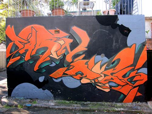 grafitti newtown enmore sydney australia 2009